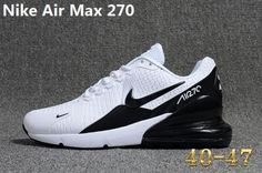 save off 367b9 bc51e Nike Air Max 270 KPU Latest Styles Running Shoes Sneakers 2018 White Black  AH8050-400