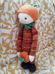 pumpkin mod by Brigitte Sch. / based on a lalylala crochet pattern