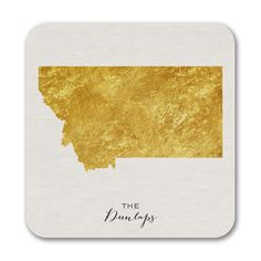 Bright State - Coasters - Montana. Available at Persnickety Invitation Studio.