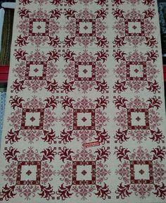 Cross Stitch Borders, Cross Stitch Designs, Cross Stitch Patterns, Palestinian Embroidery, Needle And Thread, Knitting Needles, Cross Stitch Embroidery, Needlepoint, Bohemian Rug