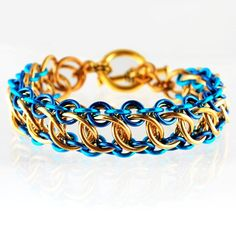 Chainmaille DIY Jewelry Class Zeela Bracelet 01/09/14 Chicago | Rebeca Mojica | Blue Buddha Boutique