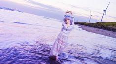 autumn twilight sea