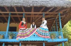 Traditional Costume of Gilaki women in Gilan province in the north of Iran.