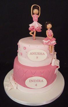 Ballerina Birthday Cake | ballerina cake (Copy)