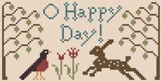 My Heartstring: Free Chart... O Happy Day!