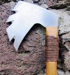 Authentic Native or Nordic Tomahawk War Axe by HappyMediumStudios, $60.00