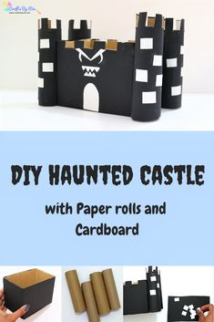 This DIY Haunted Hou