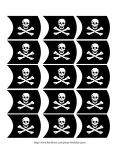 So, it's a pirate party your child be wantin'? Then a Pirate Parti is what… Pirate Birthday Party Theme Arggggh! So, it's a pirate party your child be wantin'? Then a Pirate Parti is what… Deco Pirate, Pirate Kids, Pirate Day, Pirate Flags, Pirate Snacks, Pirate Themed Food, Pirate Food, Decoration Pirate, Pirate Party Decorations