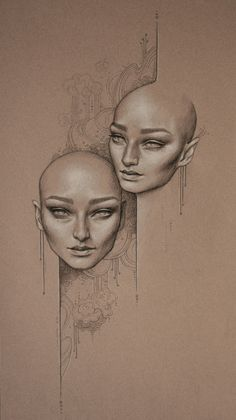 drawings by sara golish, via Behance