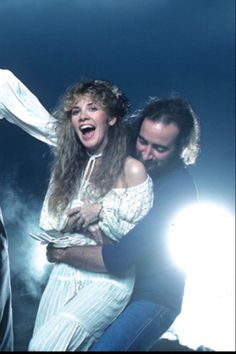 Stevie Nicks and John McVie Lindsey Buckingham, Buckingham Nicks, John Mcvie, Members Of Fleetwood Mac, Stephanie Lynn, Stevie Nicks Fleetwood Mac, Women Of Rock, Black Magic Woman, Rock Legends