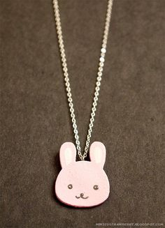 Image result for bunny jewelry diy