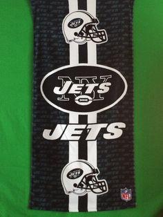 2050c6b42 NFL New York JETS Beach Towel Personalized Free Monogram