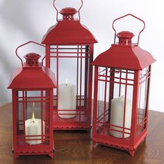 I pinned this 3 Piece Melrose Lantern Set from the Great Outdoors event at Joss and Main!