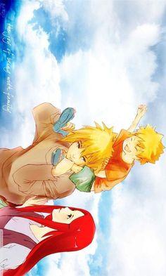 Perfect Family: Minato, Kushina and Naruto ❤️❤️❤️