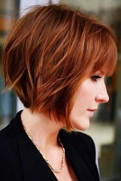 5 Easy Classy Short Bob Hairstyles with Bangs 2018 - Frauen Frisuren Bob Hairstyles With Bangs, Bob Haircut With Bangs, Bob Haircuts For Women, Thin Hair Haircuts, Modern Haircuts, Hairstyles Haircuts, Short Bob Bangs, Short Bob With Fringe, Short Haircuts With Bangs