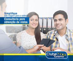 As soluções para você conseguir o seu visto estão na Clube Turismo.