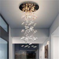 Zuo Inertia Ceiling Lamp in Clear