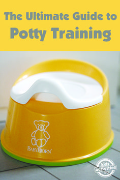 Helpful potty training articles plus our favorite books and gear to make the whole process easier!