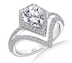 New Trends in Engagement Rings (and Other Wedding-Related Things):Karl Lagerfeld Design #jewelrycleaner #connoisseurs #bride #engagementring #diamondring #cleanyourjewelry