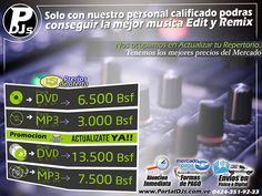 HEY #DJ tenemos Nuevos precios!!!   nuevas promociones para lo que resta de año  #MusicaParaDJs .  nos encargamos de actualizar tu repertorio con lo mas sonado en los género  #TrapLatino #Reggaeton #Merengue #ElectroHouse #Pachanga #Progressive #TechnoHouse #Bachata #Moombahton #Alternativas #Salsa y mas!!!  . contacta nuestros servicios a través de los puntos de contactos de nuestra bio!! No pierdas tiempo descargando musica sin sentido tenemos lo mas comercial a nivel mundial!!