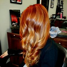 Rich Copper balyage  sombre #sistersonmain