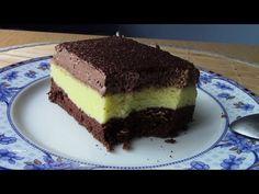 Sernik puchatek na murzynku z czekoladową pianką (fajny krem)