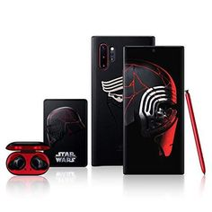 Samsung Galaxy celebrates the upcoming release of Star Wars: The Rise of Skywalker with a special-edition Galaxy Note10+ Discover the dark side of Galaxy with an exclusive black Note10+ featuring red accents and red S Pen Accessorize with an embossed Leather Cover, coordinated Galaxy Buds, and an exclusive metal badge as a collector's item