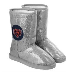 Chicago Bears Sequined Boots