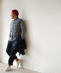 【楽天市場】Nigel Cabourn ナイジェル・ケーボン クレイジーメディカル ロングスリーブシャツ・8050010055・10056(全2色)(S・M・L)【2013春夏】:Crouka LR(クローカ エルアール)