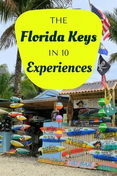 Travel inspiration for anyone visiting the Florida Keys! Here are 10 different activities and experiences you should consider on your trip down to the Keys.