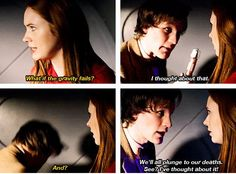 """""""See? I've thought about it!"""" #DoctorWho"""