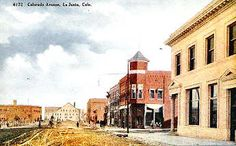 Colorado Ave and 3rd Street in the Early Twentieth Century