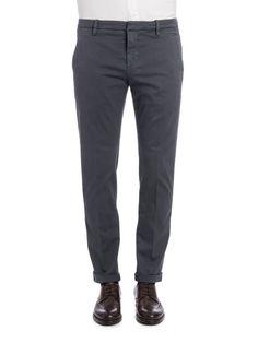 """DONDUP Dondup Cotton Blend Gaubert"""" Trousers"""". #dondup #cloth #"""