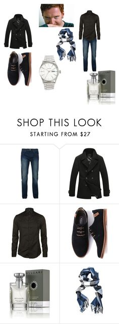 """Percy Weasley - I see it now"" by pepper2good4u on Polyvore featuring Bellfield, Armani Jeans, Bulgari, Burberry, Nixon, men's fashion and menswear"