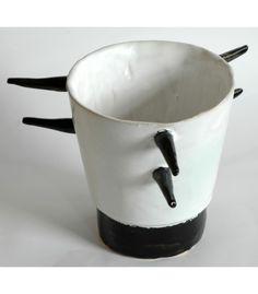 BW porcupine mug.