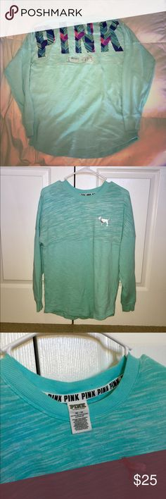 PINK Long Sleeve Shirt PINK Long Sleeve/Sweatshirt. Used, but in great condition. PINK Sweaters