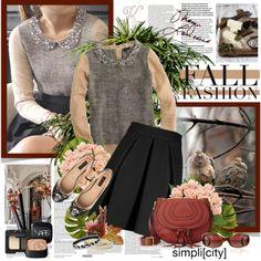 """""""Fall fashion"""" by helleka ❤ liked on Polyvore"""