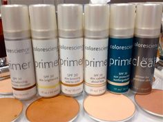Why should you try Colorescience Face Primers?  --> Creates a youthful texture & tone in one simple step  --> Extends makeup wear  --> Provides a moisture barrier  --> Broad spectrum UVA/UVB sun protection   --> 6 Primer options to meet every skin need