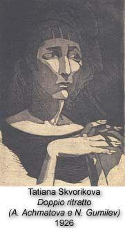 Anna Achmatova, Tatiana Skvorikova, 1926