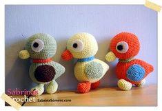 Schema per papero amigurumi #crochet #freepattern #pattern