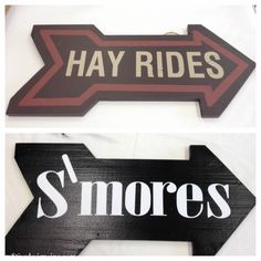 S'mores Sign