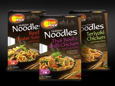 SunRice Noodle Meal Kits on Packaging of the World - Creative Package Design Gallery