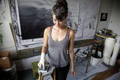 [Inspiration] Painter Crush   Zaria Forman Making It Real