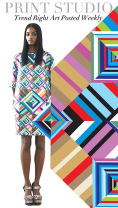 TREND COUNCIL- COLORED GEOMETRICS