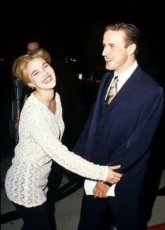 Drew Barrymore & David Arquette (Never Been Kissed)