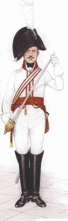 Cuirassier 13th Regiment (Garde du Corps) 1806.