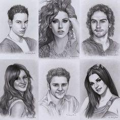 Perfeitos até em desenho hahaha