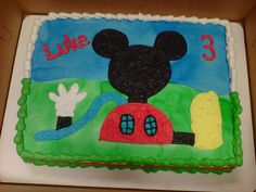 Mickey Mouse cake for Luke