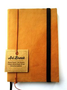 Leather Journal Natural Color