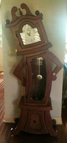 Whimsical Grandfather Clock